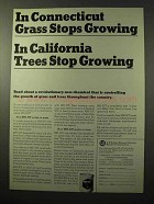 1964 U.S. Rubber MH-30T Chemical Ad - Grass Stops