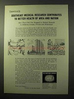 1964 The Southern Company Ad - Medical Research