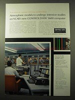 1964 Control Data 3600 Computer Ad - Atmospheric