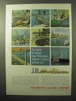 1964 Philadelphia Electric Company Ad - To Market