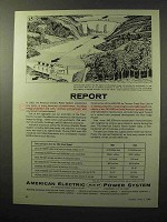 1964 AEP American Electric Power System Ad - Report