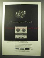 1964 Sony Sterecorder 600 Ad - Commanding Presence