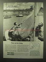 1964 Ohio Edison Penn Power Ad - Time Out for Living