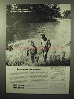 1964 Ohio Edison Penn Power Ad - Days Live Forever
