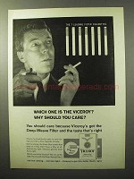 1964 Viceroy Cigarettes Ad - Why Should You Care