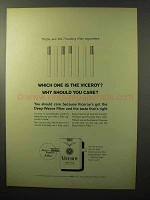 1964 Viceroy Cigarettes Ad - Should You Care