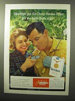 1964 Viceroy Cigarettes Ad - The Deep-Weave Filter Taste