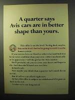 1964 Avis Rent a Car Ad - Better Shape Than Yours