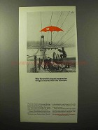 1964 Travelers Insurance Ad - Verrazano Narrows Bridge