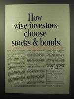 1964 Members New York Stock Exchange Ad - Investors