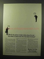 1964 Members New York Stock Exchange Ad - Find Buyer