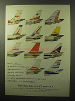 1964 Irving Trust Company Ad - Airlanes of Business