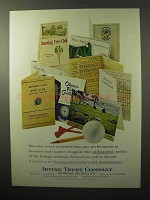1964 Irving Trust Company Ad - Better-Than-Par