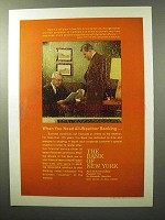 1964 The Bank of New York Ad - All-Weather Banking