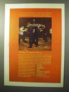 1964 The Bank of New York Ad - Way the Market Moves