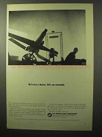 1964 Jet Propulsion Laboratory Ad - He's Not a Doctor