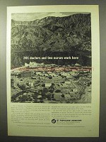 1964 Jet Propulsion Laboratory Ad, 201 Doctors 2 Nurses