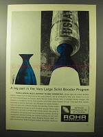 1964 Rohr Corporation Ad - Large Solid Booster Program
