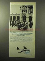 1964 Sabena Airlines Ad - 1,859 Students and Teachers