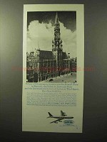 1964 Sabena Airlines Ad - Grand' Place in Brussels