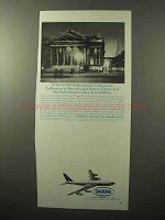 1964 Sabena Airlines Ad - La Bourse in Brussels