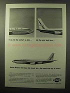 1964 United Airlines Ad - Comfort Up Here