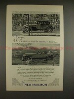 1926 Marmon Car Ad - Touring or Detouring, All the Same