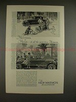 1926 Marmon Car Ad - Montreal or Miami - All the Same!!