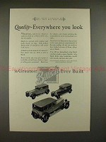 1927 Buick Car Ad - Quality Everywhere you Look!!