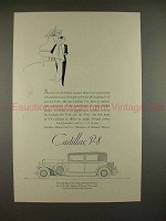 1931 Cadillac 5-passenger Town Sedan w/ Travel Trunk Ad