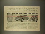 1949 Kaiser Traveler Ad - World's Most Useful Car!!