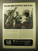 1964 Bell Helicopter Advertisement - Men Who Know