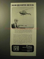 1964 Bell Helicopter Ad - Men Who Know Build