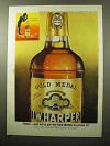 1964 I.W. Harper Bourbon Ad - Gold Medals to Prove It