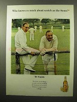 1964 Haig & Haig Scotch Ad - Who Knows As Much About?