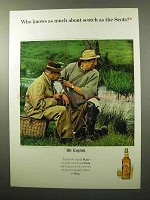 1964 Haig & Haig Scotch Advertisement - Who Knows As Much?