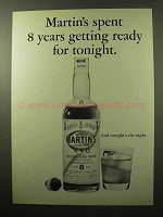 1964 Martin's Scotch Ad - Tonight's the Night