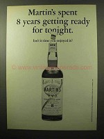 1964 Martin's Scotch Ad - Isn't It Time You Enjoyed It?