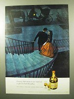 1964 Drambuie Cordial Ad - Evenings Memories Made Of