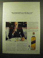 1964 Johnnie Walker Black Label Scotch Ad - Finest