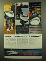 1964 Evinrude Sportwin Outboard Motor Ad - Sweet