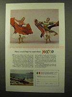 1964 Mexico Tourism ad - Have a Real Fling