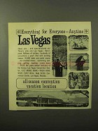 1964 Las Vegas Convention Center Ad - Anytime