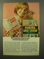 1964 Purina Dog Chow Ad - Most Successful Promotion