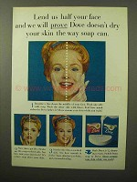 1964 Dove Soap Ad - Lend Us Half Your Face