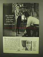 1964 SEGO Diet Food Ad - How Slender You Were