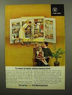 1964 Westinghouse Space King Refrigerator, Freezer Ad