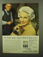 1964 Clairol Come Alive Gray Hair Color Ad - I Love It