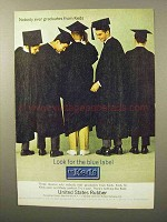 1964 Keds Shoes Ad - Nobody Ever Graduates From