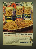 1964 Planters Dry Roasted Nuts Ad - No Fats